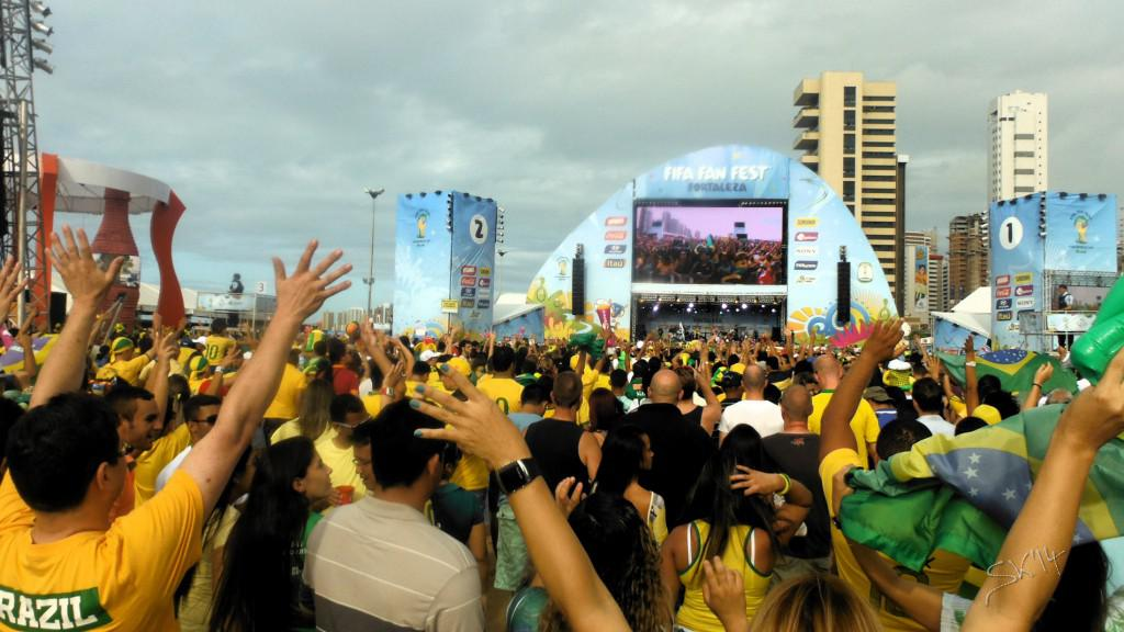 Brazil - Mexico: Capacity 35k (official) guestimated 20k there
