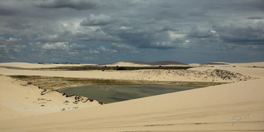 Dunes around Jeri