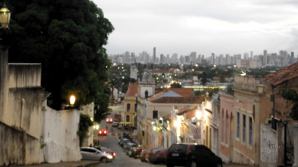 Olinda, Recife in the background